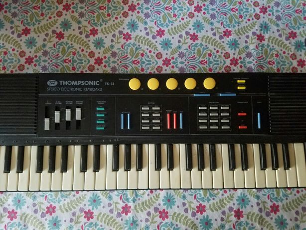 Sprzedam keybord THOMPSONIC TS-03