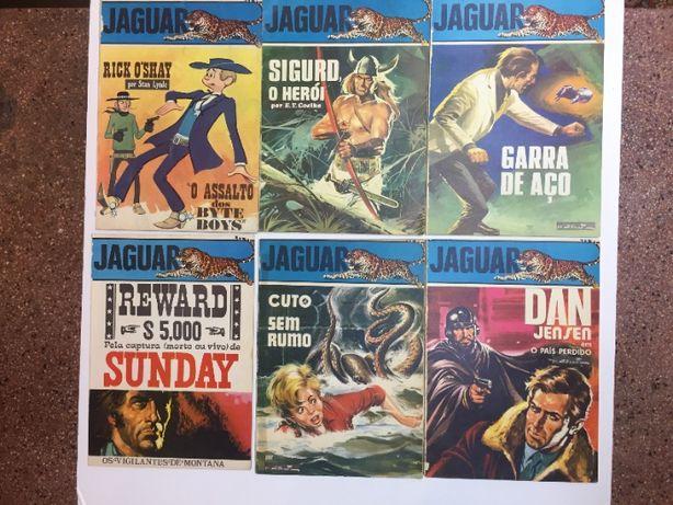 Banda desenhada - colecção JAGUAR