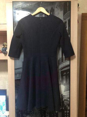 Платье замш плаття