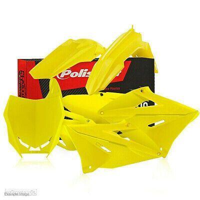 kit plasticos restyling polisport amarelo suzuki rm 125 / 250