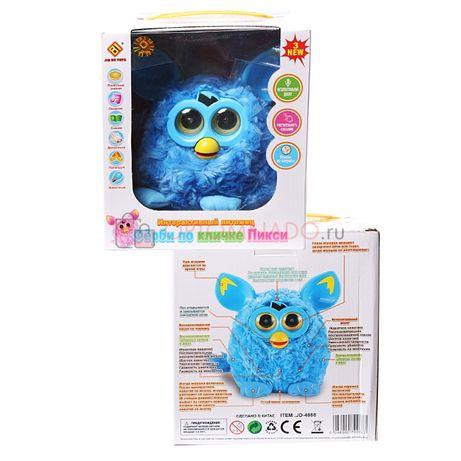 Интерактивная игрушка Фёрби по кличке Пикси (разговаривает, отвечает н
