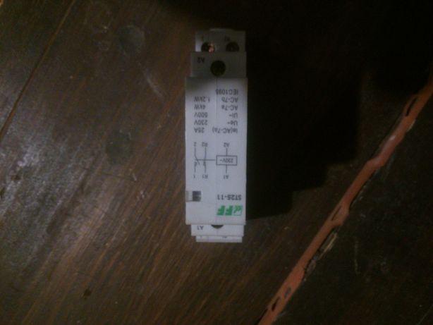 Stycznik modułowy, montaż na szynie, styki 1NO+1NC, 25A, F&F ST25-11