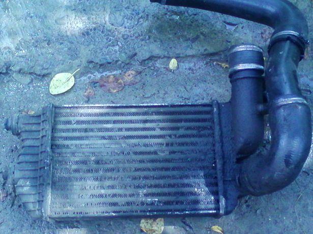 Радиатор интеркулера сципление патрубки Citroen Jumper