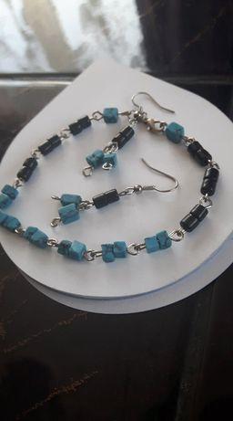 Komplet biżuterii home made
