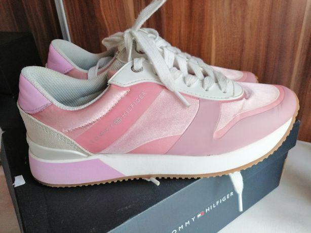 Sneakersy buty sportowe adidasy tommy hilfiger 37 super pink Li