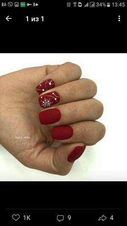 обучение гелевому наращиванию ногтей