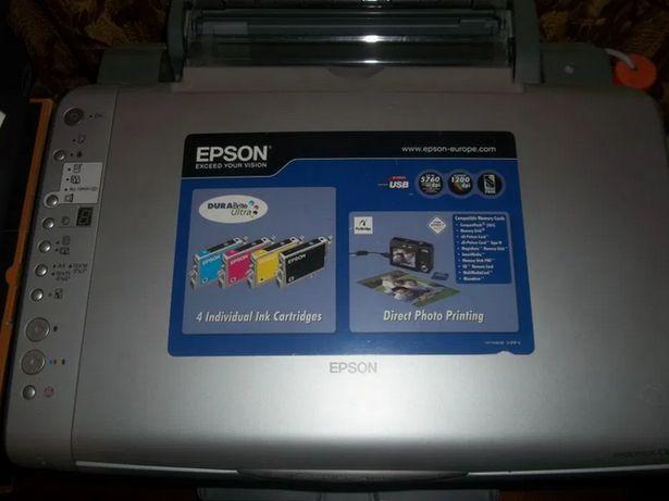Epson cx4700 рабочий и печатает
