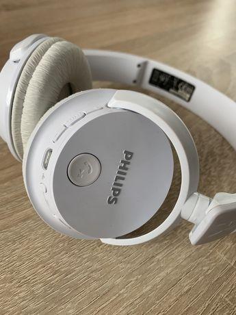 Słuchawki bezprzewodowe nauszne Philips SHB3060 białe