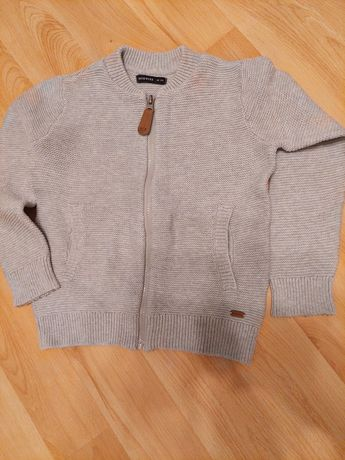 Sweterek rozpinany sweterek chłopięcy Reserved r. 116