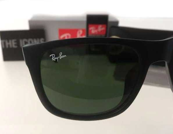 RAyban Justin oculos de sol ray ban 4165 e 2140 wayfarer preto matte