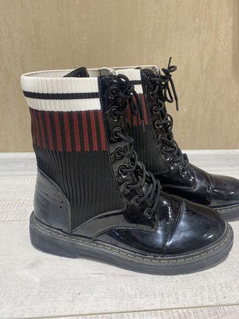 Ботинки в стиле Фенди