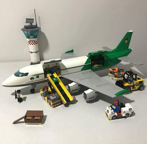 РЕДКИЙ НАБОР! Оригинал Лего Lego. Конструктор 60022 Самолёт и терминал