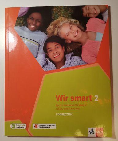 Książka do j. niemieckiego dla klas piątych Wir Smart 2