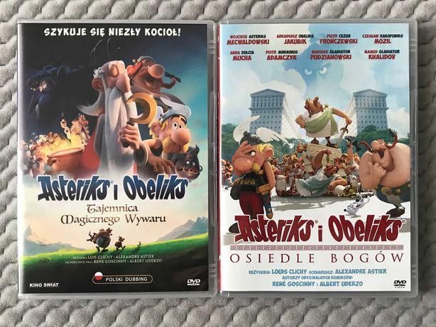 Asterix: Tajemnica Magicznego Wywaru i Asterix: Osiedle Bogów - 2 DVD