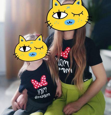 Bluzeczki mama i corka