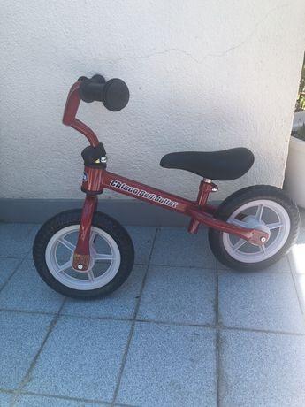 Bicicleta marca chicco sem pedais