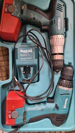 Makita Wkretarka zestaw walizka  18v