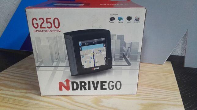 gps portatil n/drive G250 novo
