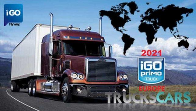 IGO Primo Truck Nawigacja GPS Najnowsza