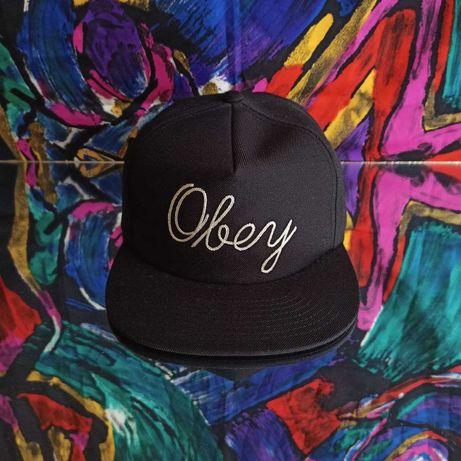 Бейсболка Obey чёрная кепка Carhartt