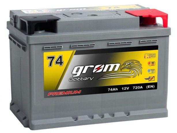 Akumulator Grom Premium 74Ah 720A