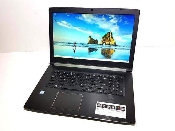 ACER ASPIRE 5 17,3 I5-8250U 8GB 256SSD idealny zestaw