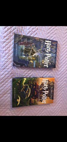 Livros 1 e 2 da saga Harry Potter