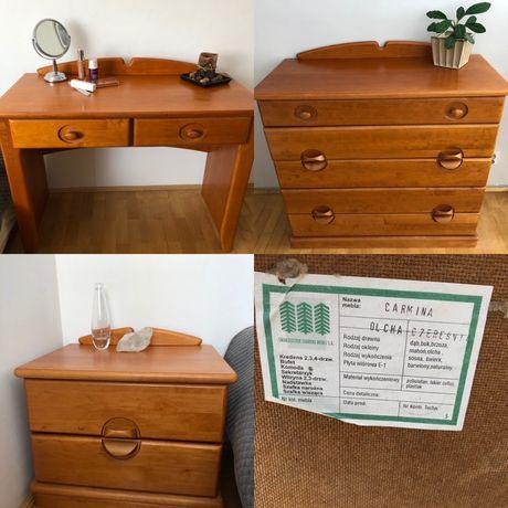 Drewniane meble do sypialni Swarzędź