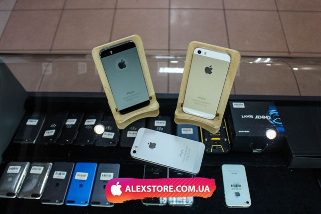 iPhone 5/5S 16GB Black/White Neverlock • ALEXSTORE.COM.UA • 5/5C/5S/6/