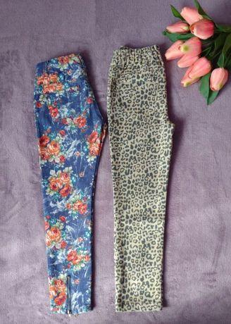 2 pary spodni r. 122 cm