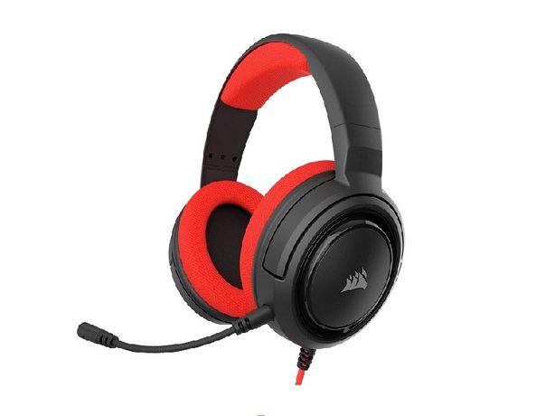 Наушники Corsair HS35 Stereo Gaming Headset красный