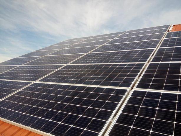 4,56 kW Instalacje fotowoltaiczne Panele Zestaw z Montażem 450W,410 W