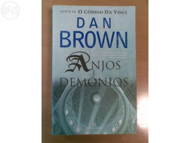 Livro Anjos e demonios - Dan Brown