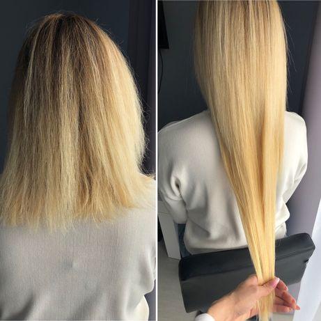 Przedłużanie włosów, keratynowe prostowanie,Botox