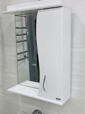 Зеркало для ванной комнаты 55см для дома и дачи