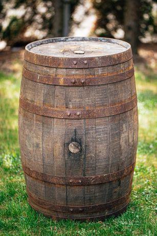 Beczka drewniana po whisky po winie dębowa szczelna beczka 200 litrów