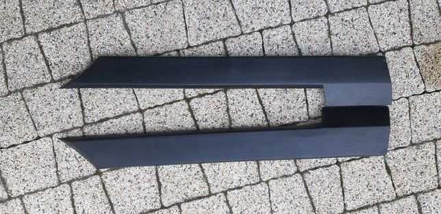 Listwy metalowo gumowe siekierki tył