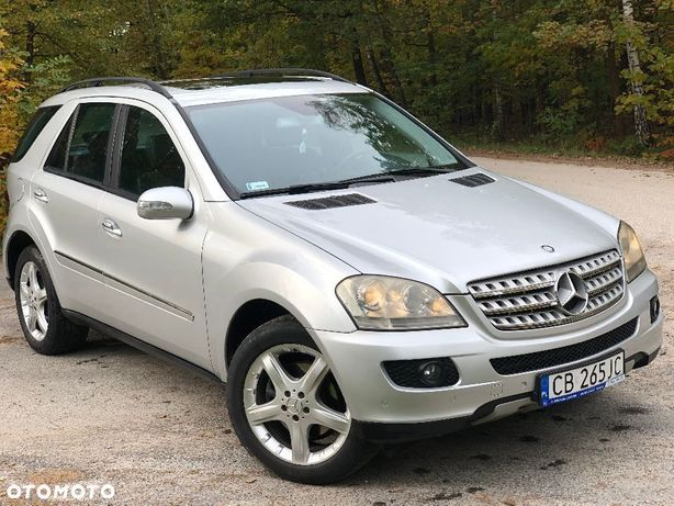 Mercedes-Benz ML w164 3.0 cdi 4 matic 2006rok niski przebieg full opcja