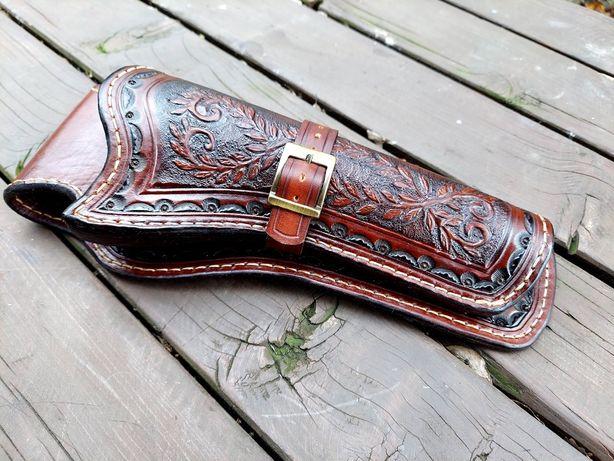 Kabura zdobiona ręcznie colt saa 7,5 cala lub Remington 5,5 lub 6,5