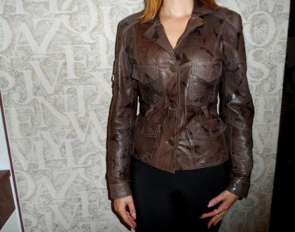 новая Натуральная кожа Турция куртка-пиджак