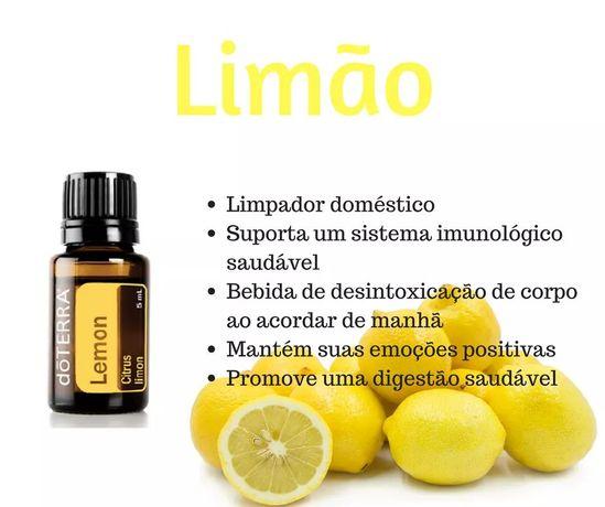 Oleo essencial limão