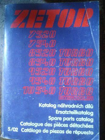 Katalog części Zetor 9540 Turbo