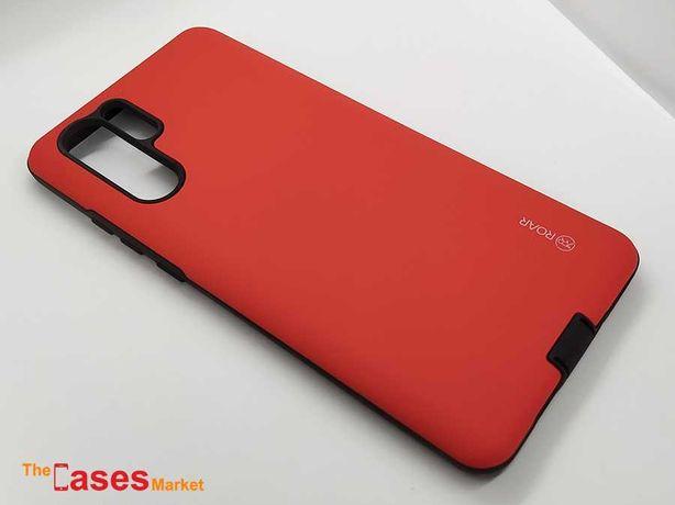 Capa anti-choque vermelha Huawei P30 Pro