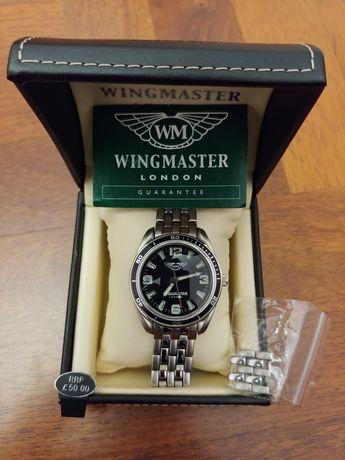 Wingmaster, London новые наручные мужские часы