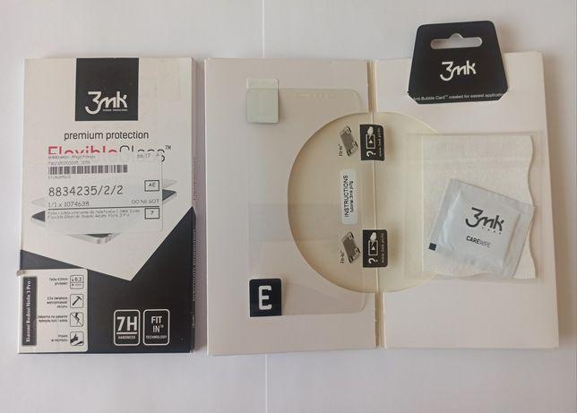 Szkło hybrydowe do Xiaomi Redmi Note 3 Pro 3MK Flexible Glass