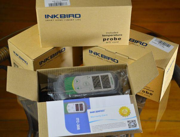 Inkbird Терморегулятор (термостат гроубокс вентилятор фитолампа лед)