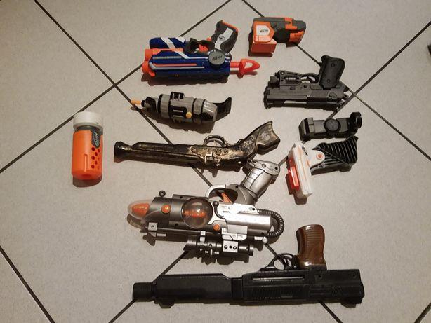 Pistolet Zabawkowy Nerf Fire Strike i inne
