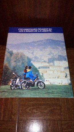 catalogo motorizadas cyclomoteur peugeot 82