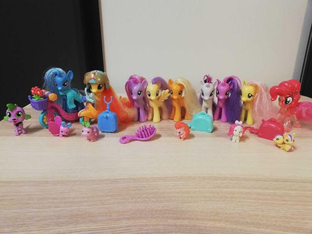 Kucyki My Little Pony - oryginalne plus zwierzaki
