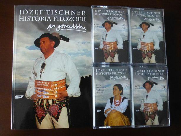 Historia filozofii po góralsku-J.Tischner-książka+kasety